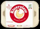 Riverview 6 Egg Medium - Fresh