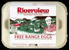 Riverview 6 Egg Medium - Free Range