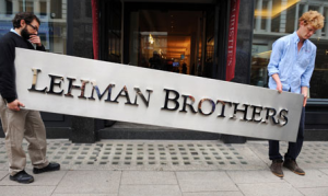 Lehman Brothers crash caused China's economic policy to change