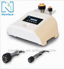 Multipolar rf with photon skin whitening slimming machine