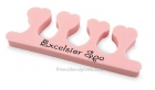 Pink Heart Shaped Toe Separators