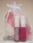 Two Bottles Of Nail Polish With Nail Clipper & Toe Separators